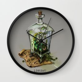 Lovecraft - Grandfathers of horror Wall Clock