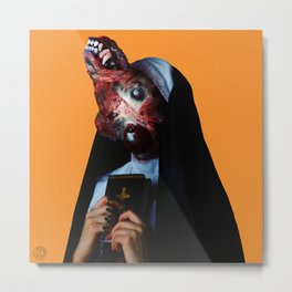 Metastatic Prioress Metal Print