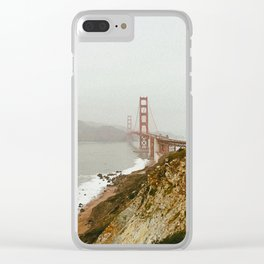 Golden Gate Bridge / San Francisco, California Clear iPhone Case
