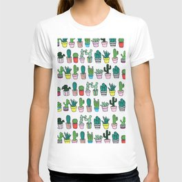 Plants in line T-shirt