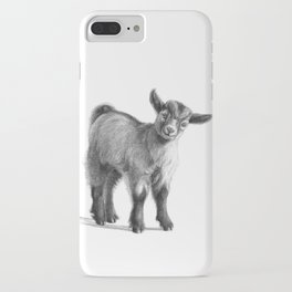 Goat baby G097 iPhone Case