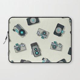 Vintage camera pattern Laptop Sleeve