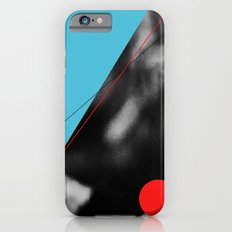 blue and red circle iPhone 6s Slim Case