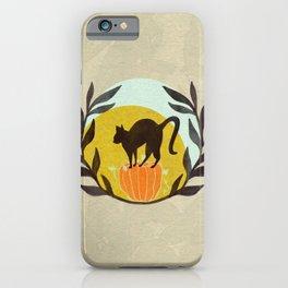 Halloween Kitty iPhone Case