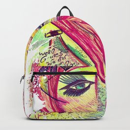 Believe in the Fairies, Who Make Dreams Come True Backpack