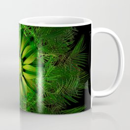 The Majesty Palm Light Flower Coffee Mug