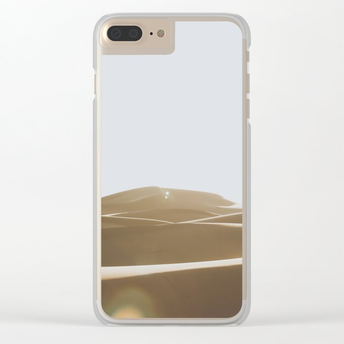 Morocco V Clear iPhone Case