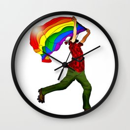 """Proud Paul"" Wall Clock"