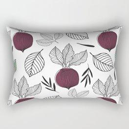 Organic Beet Rectangular Pillow