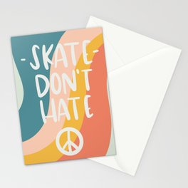 Skate Don't Hate Stationery Cards