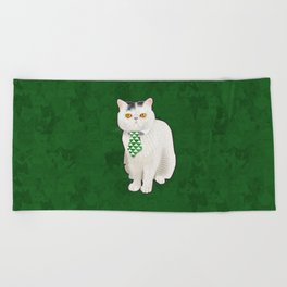 Dagoo (Green) Beach Towel