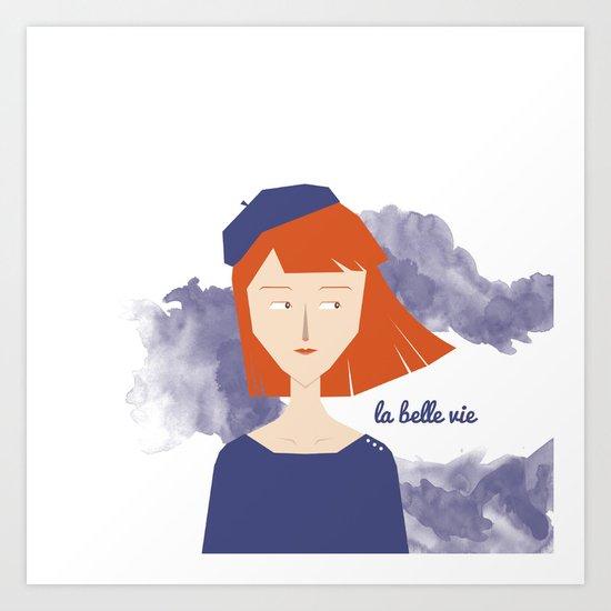 La Belle Vie Art Print