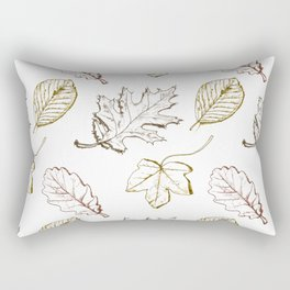 Leaves (browns) Rectangular Pillow