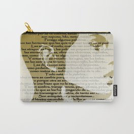 Palabras Carry-All Pouch