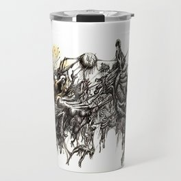 Vile Cosmos (of which we are part) by Brian Benson Travel Mug