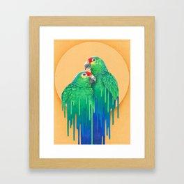 July Framed Art Print