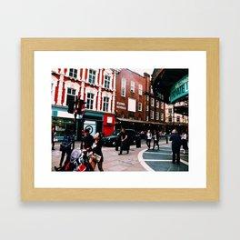 London Apollo Theatre Framed Art Print