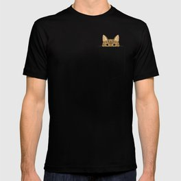 Pocket Tabby Cat T-shirt
