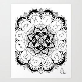Celestial Sphere Art Print