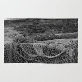 Netting Lobos bw Rug