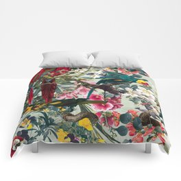 FLORAL AND BIRDS XXII Comforters