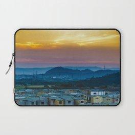 Twiglight Landscape Scene Guayaquil, Ecuador Laptop Sleeve