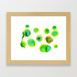Galactic Sway Framed Art Print