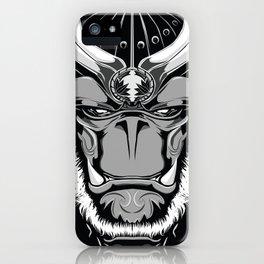 Savage Society: Gorilla Samurai iPhone Case