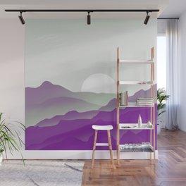 Graysexual Pride Sunrise Landscape Wall Mural
