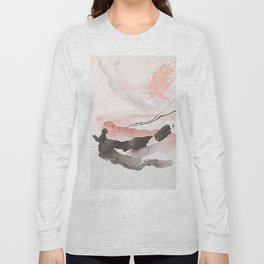 Day 25: The natural beauty of one thing leading to another. Long Sleeve T-shirt