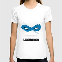 leonardo T-shirts featuring Leonardo by DSCDESIGNS