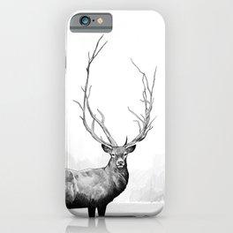 Wild - Portrait of a deer iPhone Case
