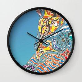 Bright Bear Wall Clock