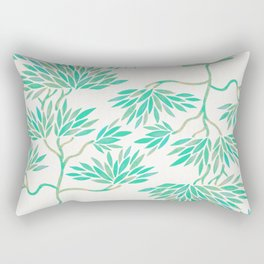Bonsai Tree – Mint Palette Rectangular Pillow