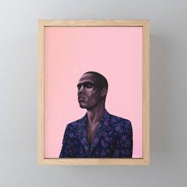 Portrait study no.3 Framed Mini Art Print