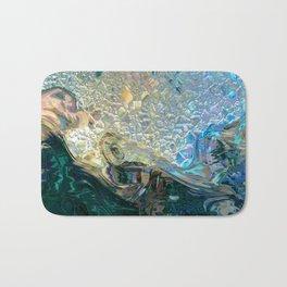 Sea Nymph Abstract Bath Mat