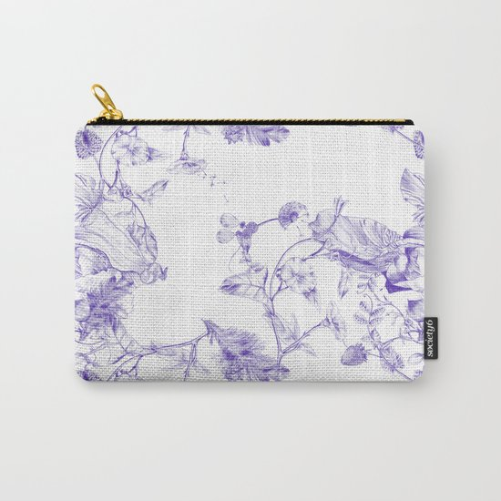 Jeweled Botanist Carry-All Pouch