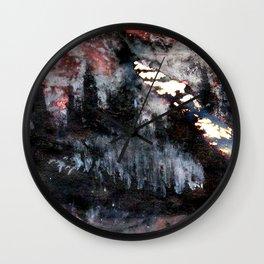 top heavy matchstick Wall Clock
