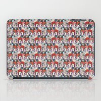 bowie iPad Cases featuring Bowie by JudithzzYuko
