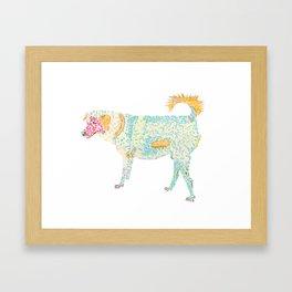 Klong Bang Luang Dog Framed Art Print