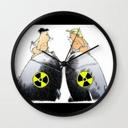 donald trump vs kim jong un Wall Clock