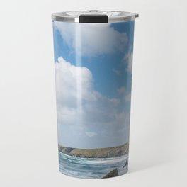 Bedruthan Steps Newquay Cornwall Travel Mug