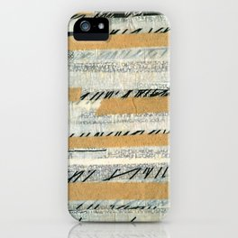 mosmith word collage iPhone Case