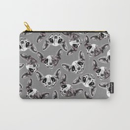 Shynx Half Skull Pattern Carry-All Pouch