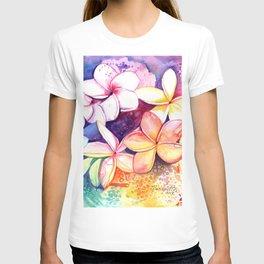 Plumeria Fun T-shirt