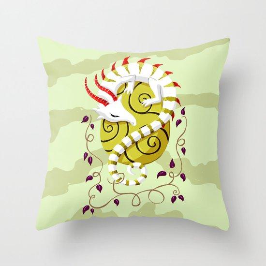 Dragon Egg Throw Pillow