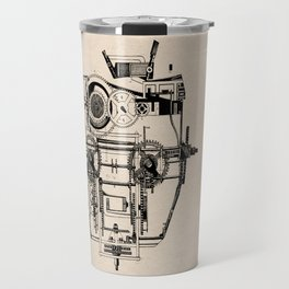 Clockhead Travel Mug