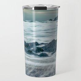 Storm at Church Cove Travel Mug