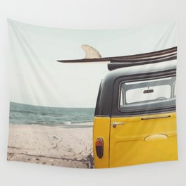 Summer surfing Wall Tapestry