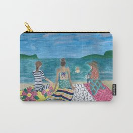 Just The Sea And Our Friendship Carry-All Pouch